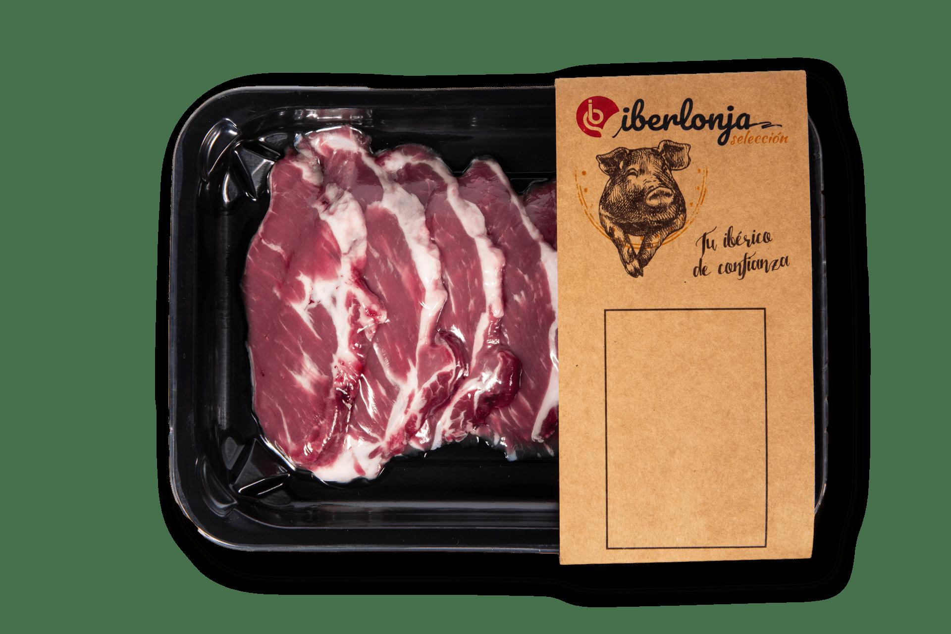 Ibericoparatodos | filetes de presa skin sin fondo | iberlonja